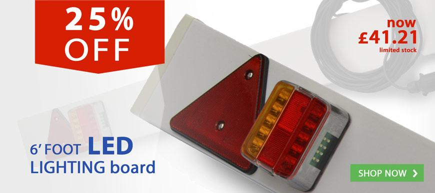25% off LED lighting