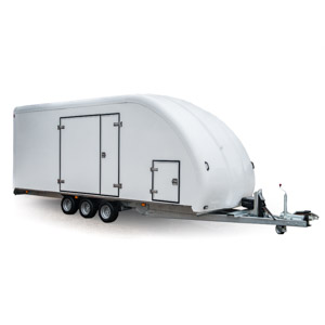 Covered Car Trailers