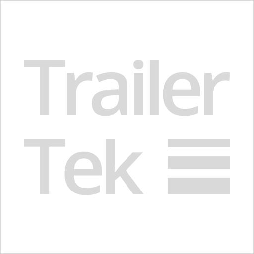 Brenderup 1205s trailer with j wheel, hitch lock, Alu. ext.