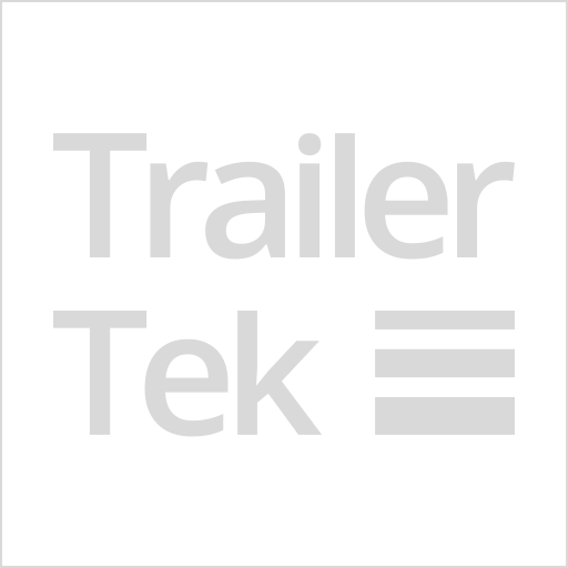 Brenderup 1205s trailer with j wheel, hitch lock, hardtop