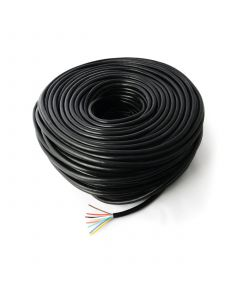 8-core cable, 100m. roll