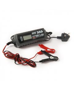 Electronic battery charger, 4.0A, 6 & 12v.