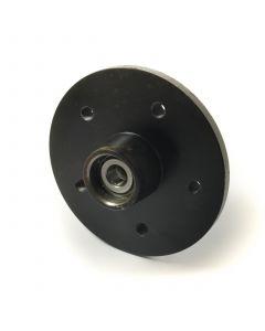 AL-KO unbraked hub, 5/112mm PCD with taper bearings