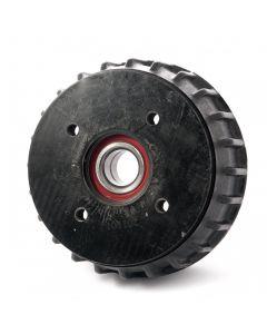 AL-KO 160x37 Euro drum, 4 on 100mm. PCD, sealed bearing