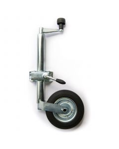 TT Jockey Wheel And Clamp (42mm Diameter)