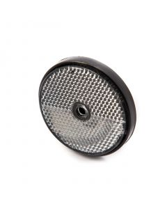 Reflector, round, clear, screw on