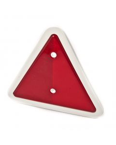 Trailer triangle with white surround