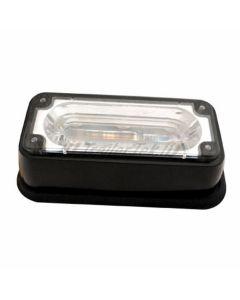TT LED flashing lamp, amber, 12/24v.