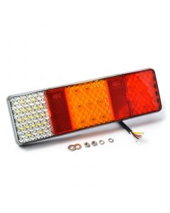 LED Autolamps 250WRM rectangular, 3 unit, lamp, 12v-24v