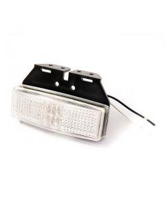 LED Autolamps 1491WM front marker lamp & bracket, 12v-24v