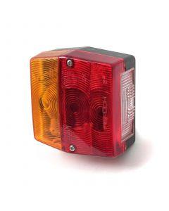 Aspock Minipoint square 4-F. lamp, non plug-in
