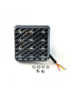 LED Autolamps 81STIMB square stop/tail/indicator lamp, 12v-24v