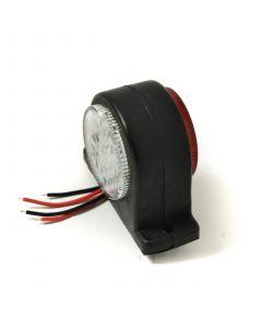 TT LED front/rear marker lamp 10-30v, rubber body
