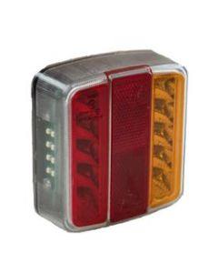 TT2 LED sq. rear lamp with reg. plate light