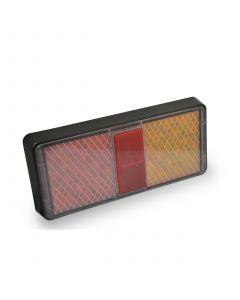 LED multi volt 3-function rectangular lamp