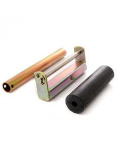 Parallel roller set with stem