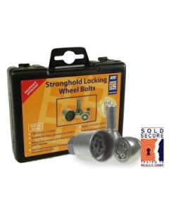 M12 locking wheel nuts for 12mm x 1.5 bolts
