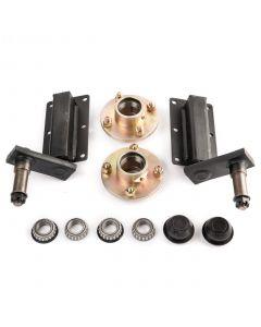 Peak 250 Kg. suspension kit, standard stubs and cast hubs