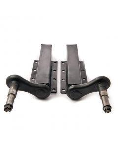 Peak 750 kg. suspension units, extended stub axle