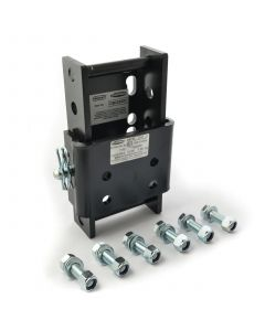 Bradley single pin height adjustable coupling