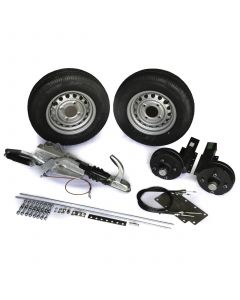 "Trailer kit, 1300 kg., braked with 13"" wheels"