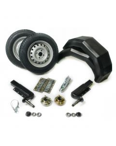 """Trailer Kit With Extended Stubs And 13"""" Wheels (750 kg)"""