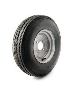 """5.00-10"""", 4 ply 4 on 4"""" PCD Wheel Assembly"""