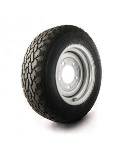 "GT Savero 185/70-R13"" C, 5 on 6.5"" PCD Wheel Assembly"