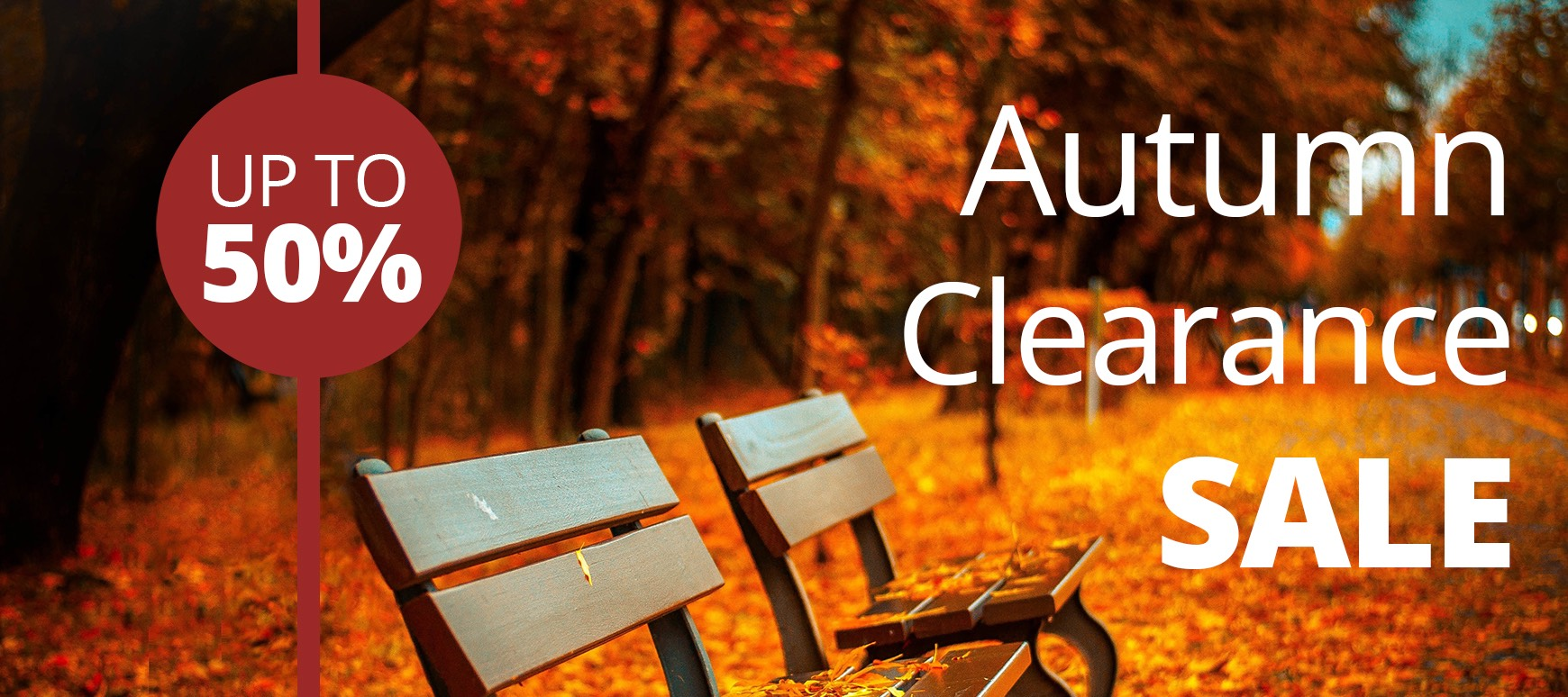 Autumn Clearance Sale