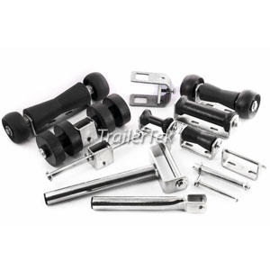 Boat Roller Assemblies and Brackets