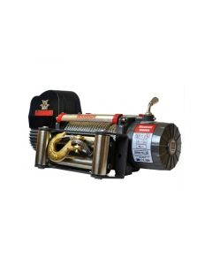 Warrior Spartan 8000 12V Electric Winch w/ Steel Rope