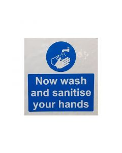 Wash Your Hands Sticker (200mm x 300mm)