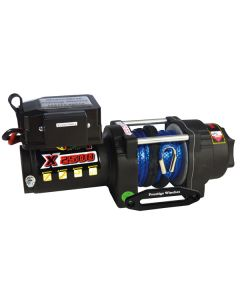 Prestige X3500 12V Electric Winch w/ Synthetic Rope