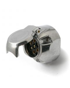 7-pin socket, alloy