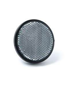 Reflector, round, clear, self adhesive