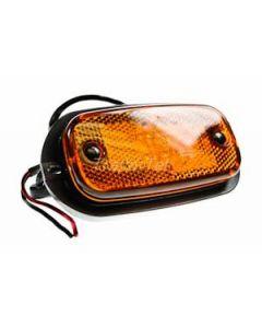 LED amber side marker light