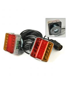 LED Magnetic pods 12v., 2.5m between, 7.5m cable