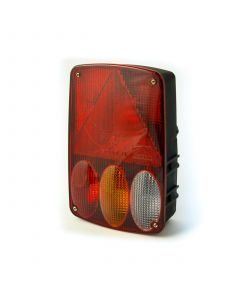 Aspock Earpoint IV rear lamp LH with fog and reverse