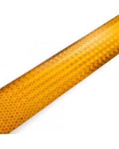 Yellow reflective tape, per meter
