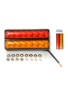 LED Autolamps 207BARPE Slimline Combi lamp, 12v., waterproof