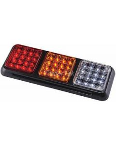 LAP LED 3-unit, 4-function, rear lamp with reverse