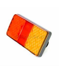 LED Autolamps rectangular rear lamp, multi-volt