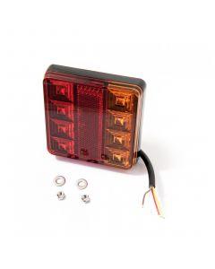 LED Autolamps 101BAR square rear lamp, 12v.