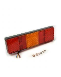 LED Autolamps 250WRM rectangular combi. lamp, 12v-24v