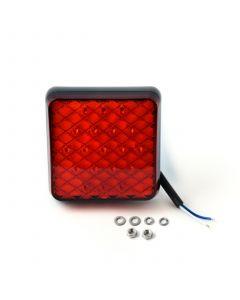 LED Autolamps 81FMB square fog lamp, 12v-24v