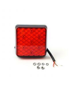 LED Autolamps 81RMB square stop/tail lamp, 12v-24v