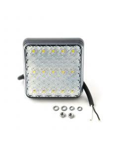 LED Autolamps 81WM square reverse lamp, 12v-24v,