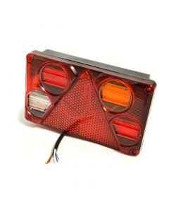 LED rectangular multi function RH rear lamp 10-30v.