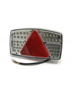 LED horizontal rear combination lamp, 10-30V, LH