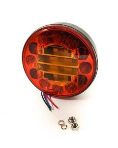 TT LED round rear lamp, 12/24v. S.T.I.